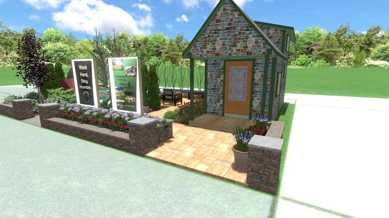 Feature Gardens At The Indianapolis Home Show