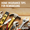 American Family Insurance Remodeling Tips