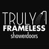 Truly Frameless Showerdoors Logo