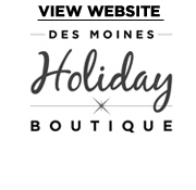 Des Moines Holiday Boutique Logo