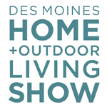 Des Moines Home + Outdoor Living Show Logo