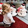 Child Snowman