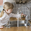 Little Girl with Water Thumbnail