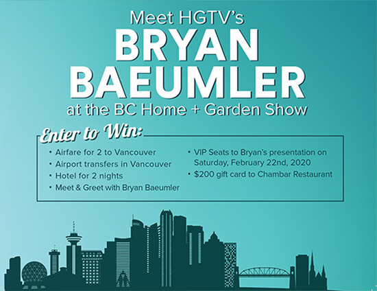 Meet Bryan Baeumler in BC
