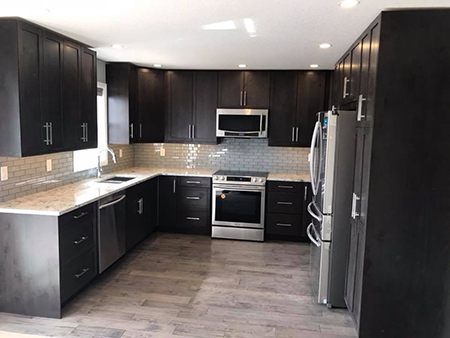 Cleland Contracting Kitchen