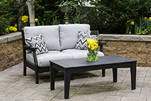 Outdoor living sofa