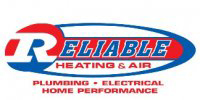 Reliable Heating & Air logo