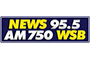 News 95.5 and AM 750 WSB logo