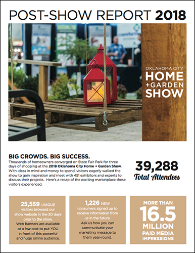 Oklahoma City Home + Garden Show Post-Show Report Cover