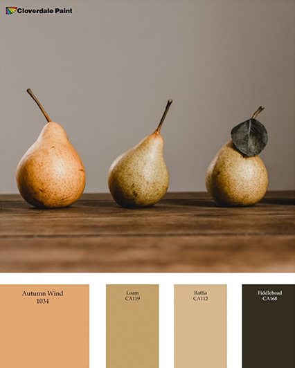Pear Paint Palette Cloverdale Paint
