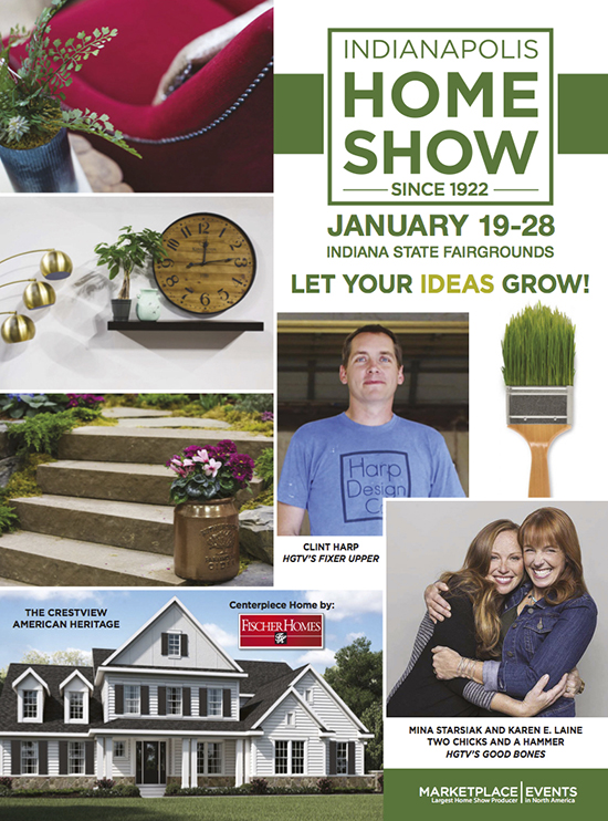 Indianapolis Home Show Show Guide Cover
