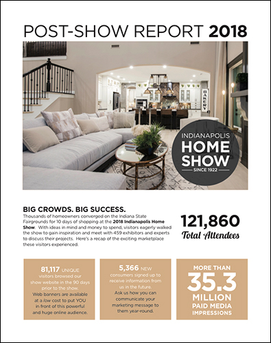 Indianapolis Home Show Post-Show Report Cover