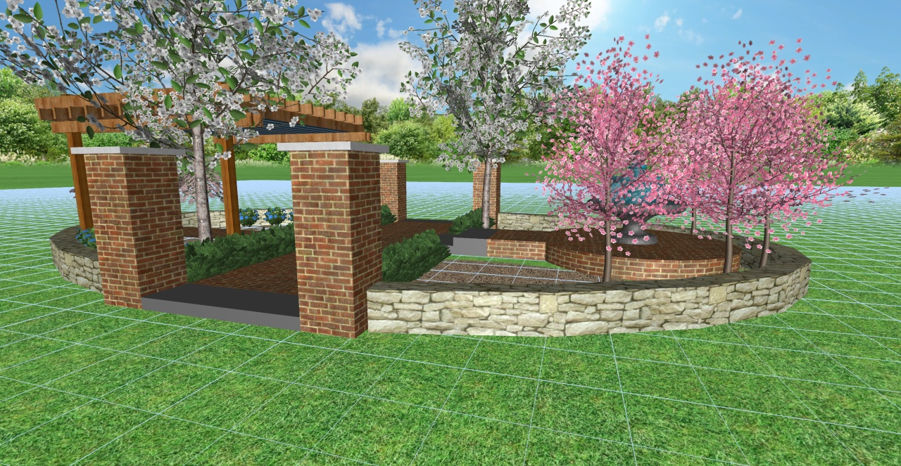 Grok Landscapes by Design, a subsidiary of Dave's Lawn and Landscape, Inc.,  is a full-service design-build firm founded in 1990 in Fountaintown, IN. - Feature Gardens At The Indianapolis Home Show