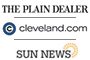 The Plain Dealer, Cleveland.com, Sun News logo