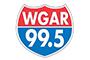 99.5 WGAR logo