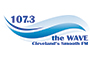 107.3 The Wave logo