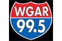 WGAR 99.5 Logo