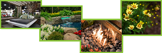 Feature Gardens collage of image