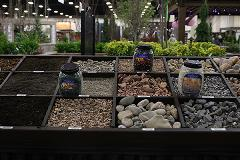 Outdoor living pavement material