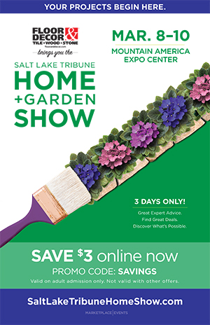 Salt Lake Tribune Home + Garden Show