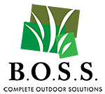 BOSS Complete Lawn Landscaping and Outdoor Services logo