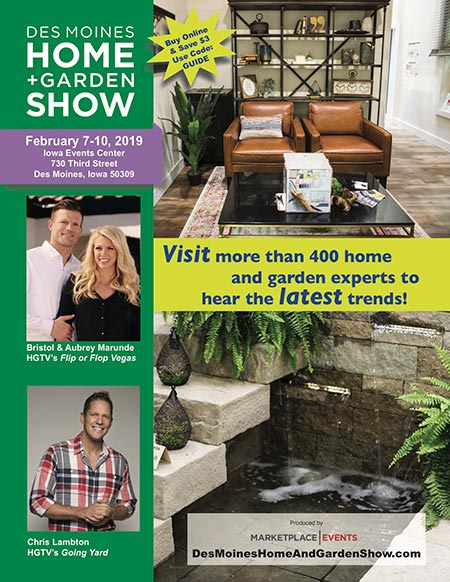 Show Guide for the Des Moines Home + Garden Show