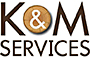 K & M Services logo