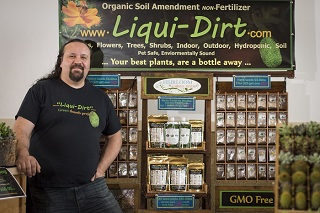 "Corey Sackett, founder of ""Liqui-Dirt"""