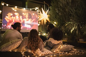 Ultimate Backyard Cineplex