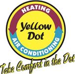 Yellow Dot Heating and Air Logo