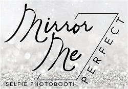 Mirror me perfect logo FINAL silver bg -resized
