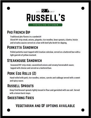 resized menu