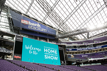 Stadium Welcome Sign