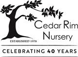 Cedar Rim 40th - Black