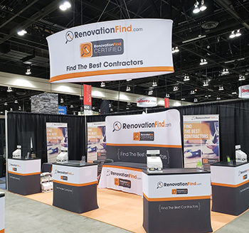 RenovationFind Booth at the Show