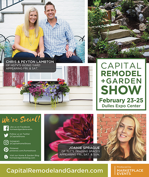 Capital Remodel + Garden Show Show Guide Cover