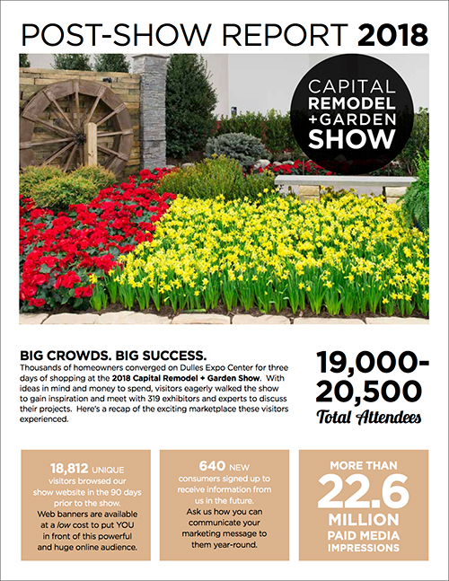 Capital Remodel + Garden Show Cover