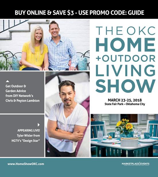 The OKC Home + Outdoor Living Show Show Guide Cover