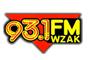 93.1 FM WZAK Logo