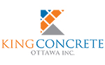 King Concrete logo