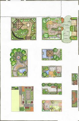 Coloured Living Landscapes floor plan
