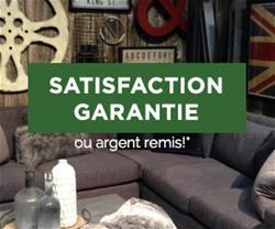 Satisfaction Garantie