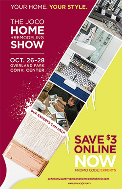Johnson County Home + Remodeling Show Poster