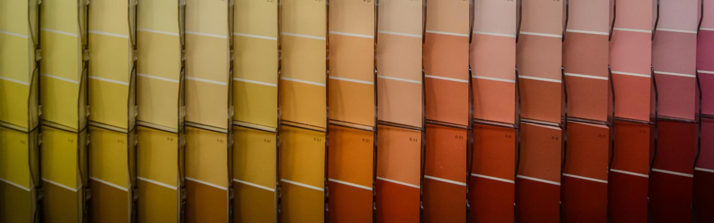 Marsala Paint Swatches