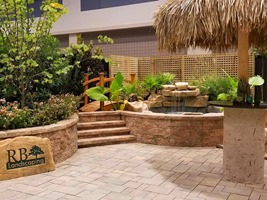 RB Landscaping Raleigh Home Show Display
