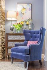 The Design Haus - Purple Chair
