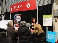Help Desk at the show