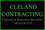 Cleland Contracting logo