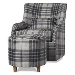 Coventry Armchair and Ottoman