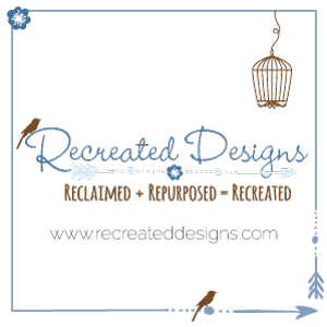 recreated design company logo